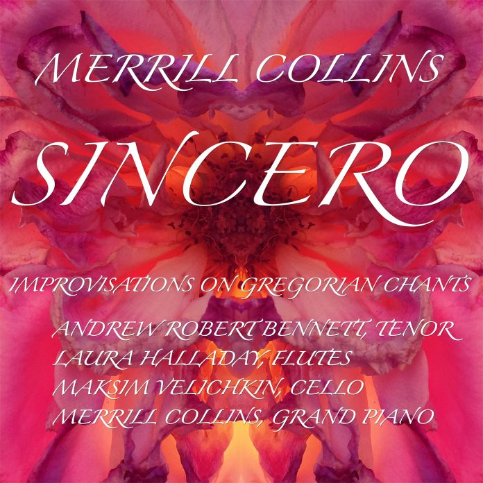 Serenely peaceful world-class improvisations on Gregorian Chants Merrill Collins