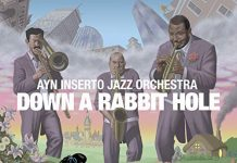 Adventuresome big-band jazz exploration Ayn Inserto