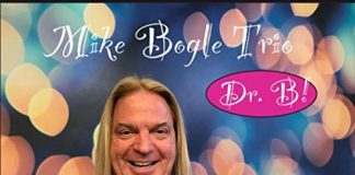 Versatile rockin' jazz organ Mike Bogle Trio - DR. B!
