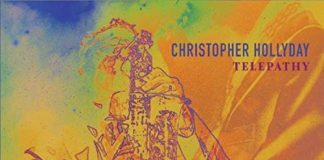 Passionate joyful bebop jazz Christopher Hollyday