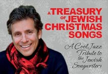 Sensitive Jewish Christmas jazz vocals Jake Ehrenreich with The Roger Kellaway Trio