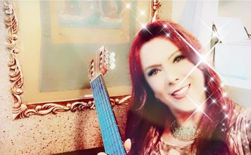 Heavenly compassionate guitar vocal AnayaMusic