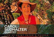 Rich toned baritone sax jazz Carol Sudhalter Quartet