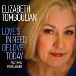 Powerful enduring jazz vocals Elizabeth Tomboulian