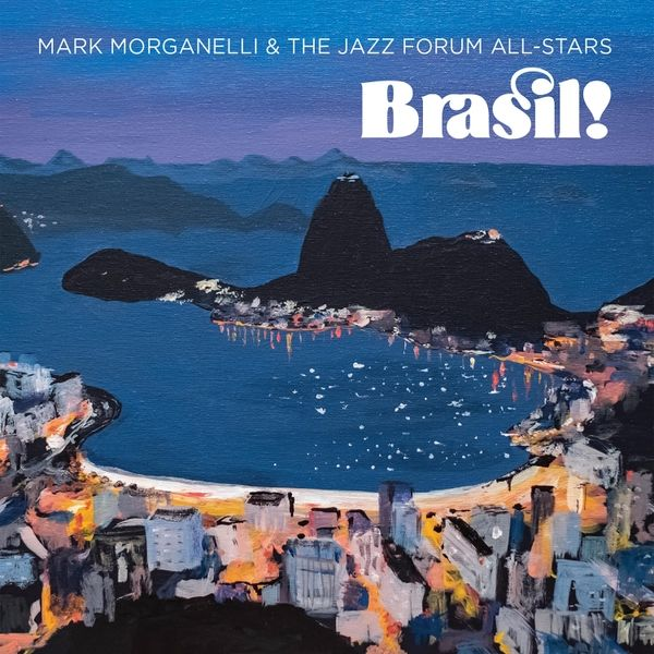 Tasty masterful Latin jazz Mark Morganelli and The Jazz Forum Allstars