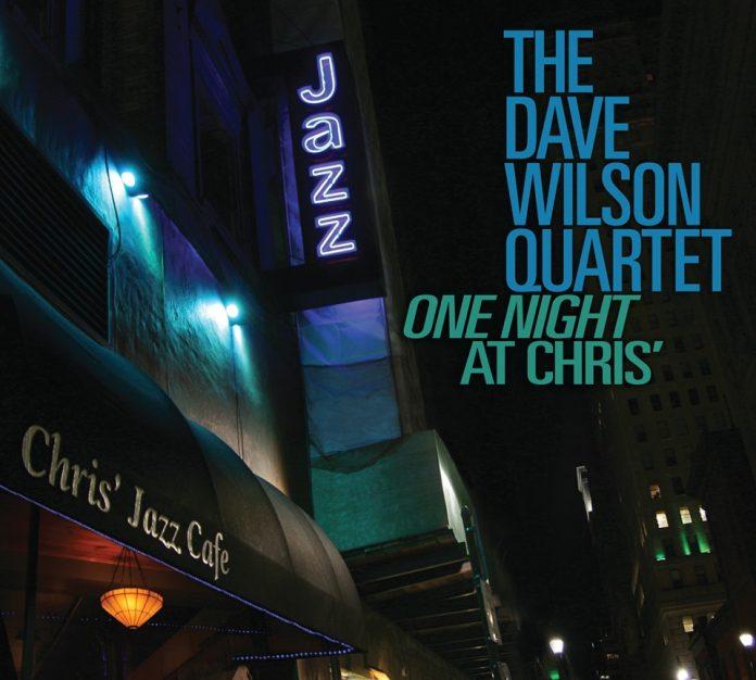 Stunning live saxophone jazz The Dave Wilson Quartet