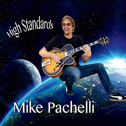 Upbeat positive jazz guitar Mike Pachelli