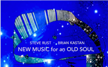Exciting improvisational explorations Steve Rust and Brian Kastan