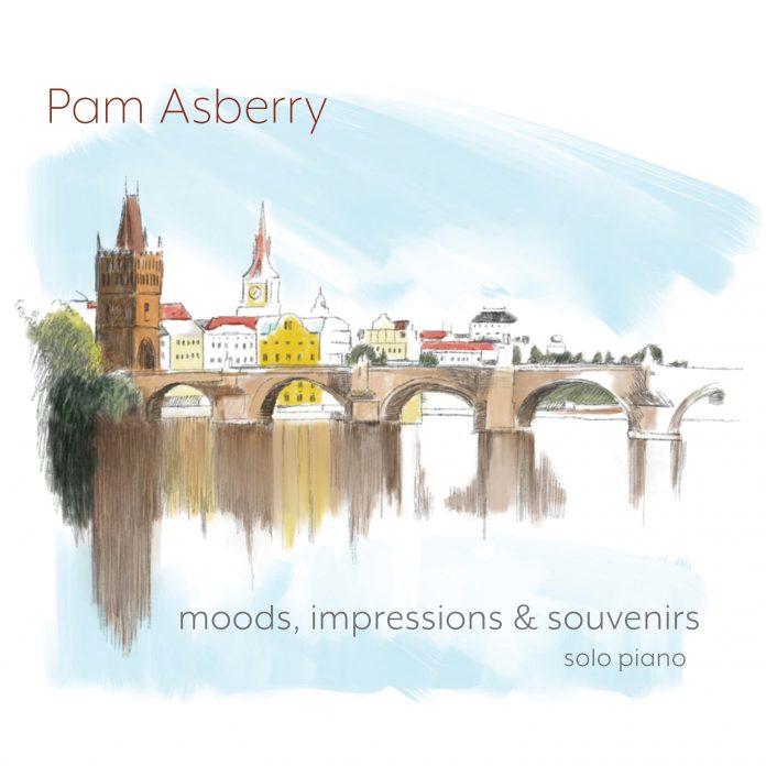 Dramatically inspiring solo piano Pam Asberry