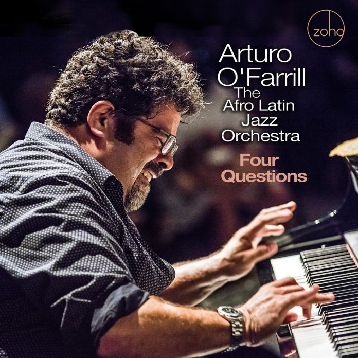 Jolting inspiring jazz fury Arturo O'Farrill and The Afro Latin Jazz Orchestra