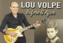 Joyful jazz guitar Lou Volpe