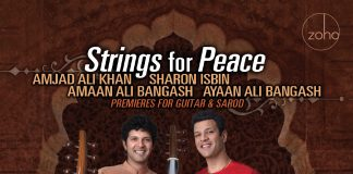 Groundbreaking powerful Premieres for Guitar & Sarod Sharon Isbin