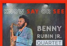 Exhilarating enchanting saxophone jazz Benny Rubin Jr