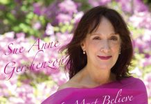 Delightful jazz vocal debut Sue Anne Gershenzon