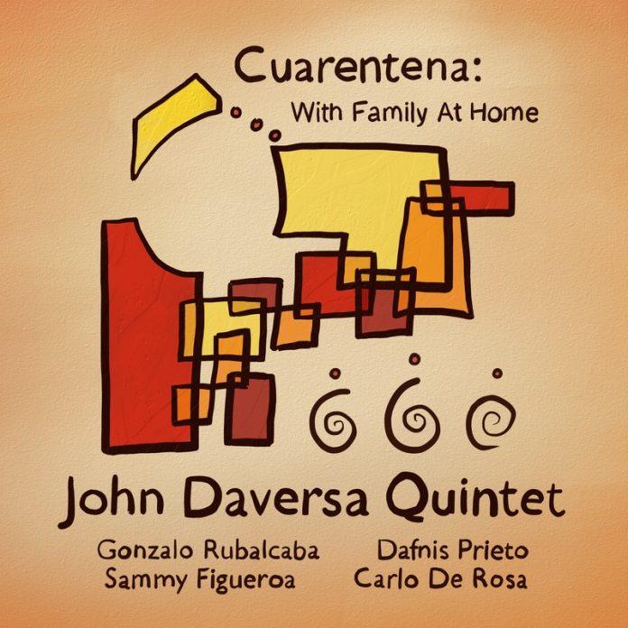 Reflective quarantine jazz beauty John Daversa Quintet