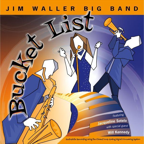 Colorful catchy big band jazz Jim Waller Big Band