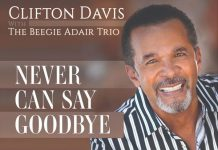 Deliciously dynamic jazz vocal debut Clifton Davis with The Beegie Adair Trio