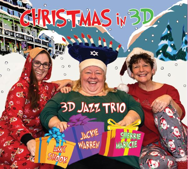 Fiercely swinging holiday jazz 3D Jazz Trio