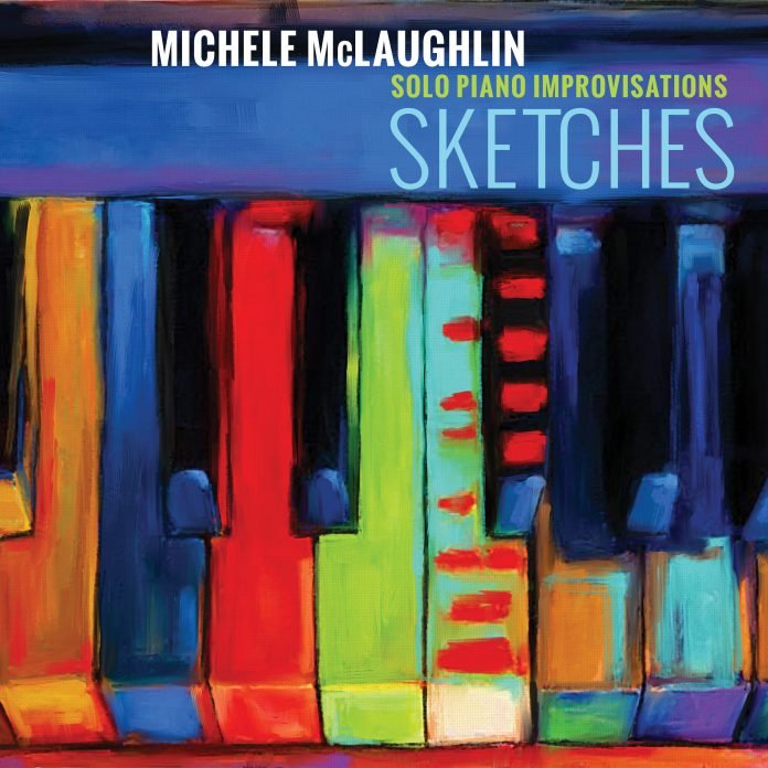 Lively innovative solo piano improvisations Michele McLaughlin