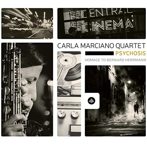 Marvelous mysterious saxophone jazz Carla Marciano Quartet