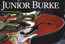 Tantalizing tasty guitar magic Junior Burke