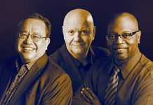 Highly talented jazz trio Jeremy Monteiro, Jay Anderson, Lewis Nash