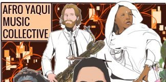 Memorable virtuosic jazz-funk Afro Yaqui Music Collective