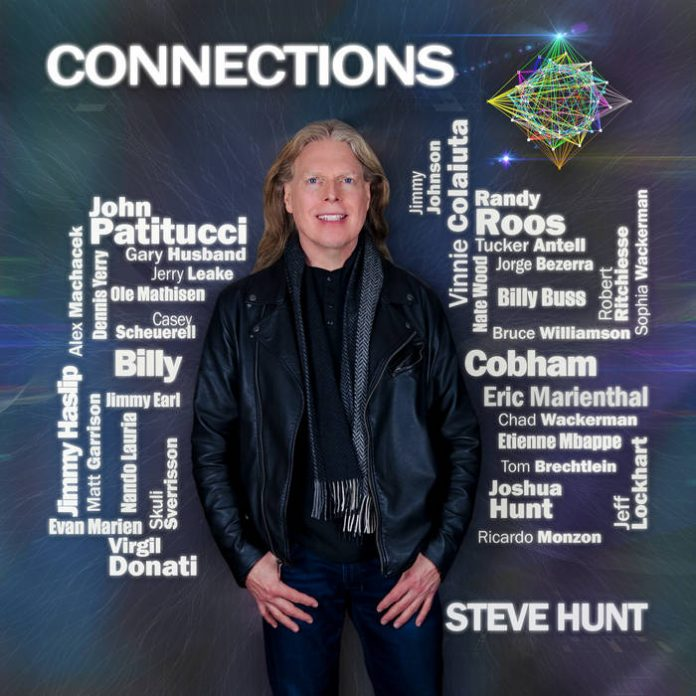 Fabulously creative fusion jazz Steve Hunt