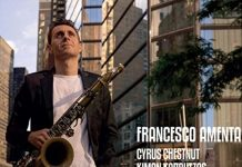 Sweet jazz saxophone magic Francesco Amenta