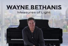 Spirited shimmering solo piano Wayne Bethanis
