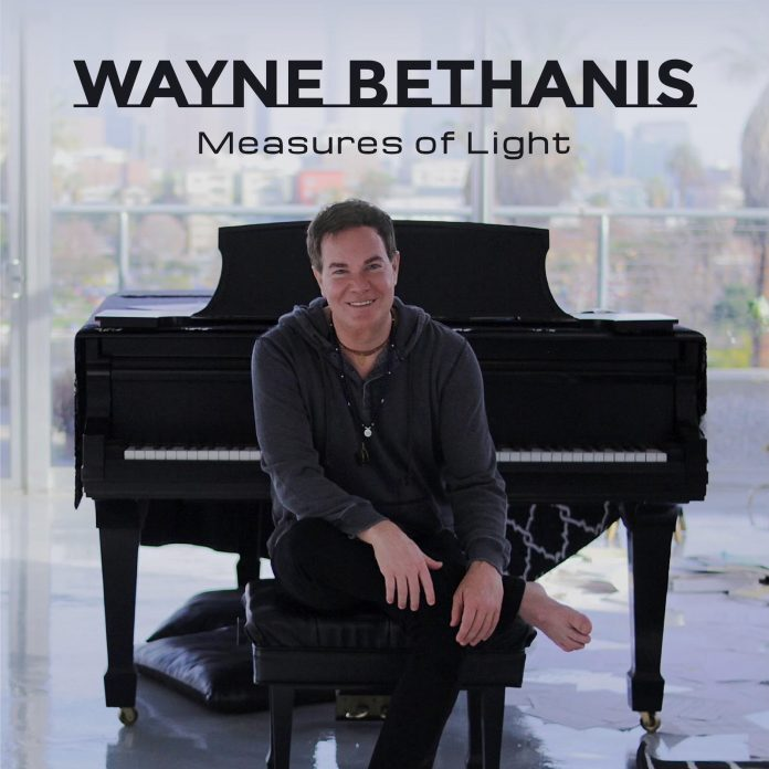 Spirited shimmering solo piano Wayne Bethanis