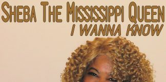 Exciting down home blues Sheba The Mississippi Queen