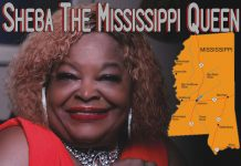 Buoyant blistering blues Sheba The Mississippi Queen